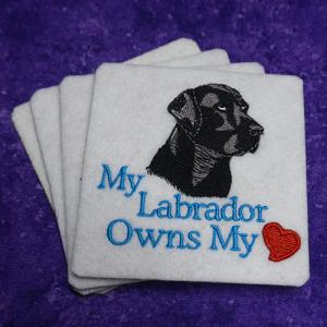 My Labrador Owns my Heart
