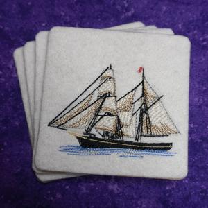 Sailing Ship Coasters