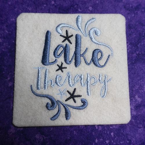 Lake Therapy Coaster