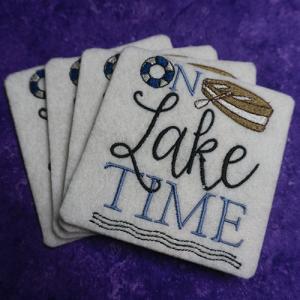 On Lake Time Coasters