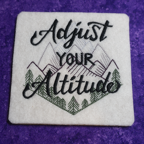 Adjust Your Altitude Coaster