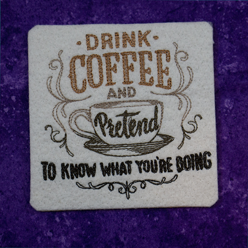 Drink Coffee Pretend to Know Coaster