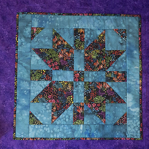 Moody Blooms Table Topper