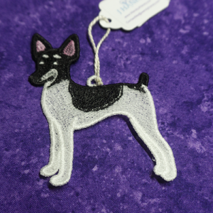 Toy Fox Terrier Ornament