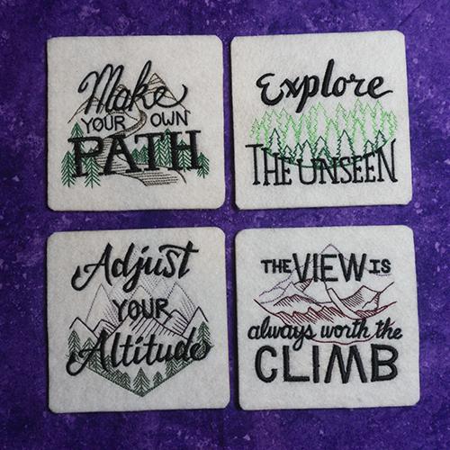 Inspiring Adventure Coaster Set