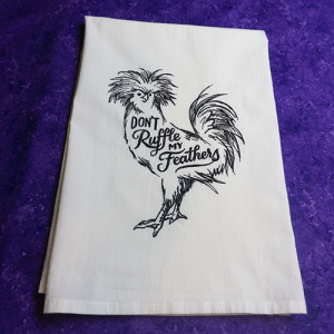 Dish Towel for the chicken lover.
